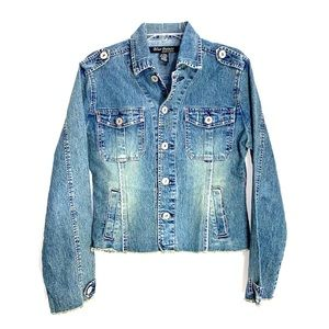 Blue Point Denim Jacket-L